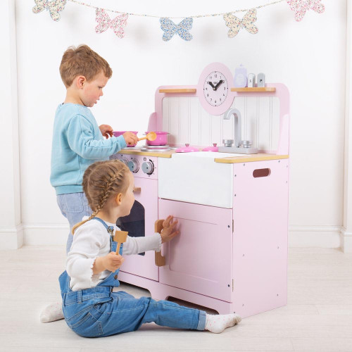 Tidlo Country Play Kitchen - Pink