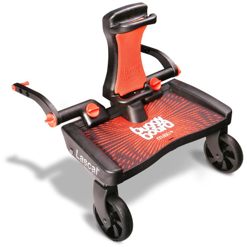Lascal Maxi Plus Buggyboard & Saddle - Red