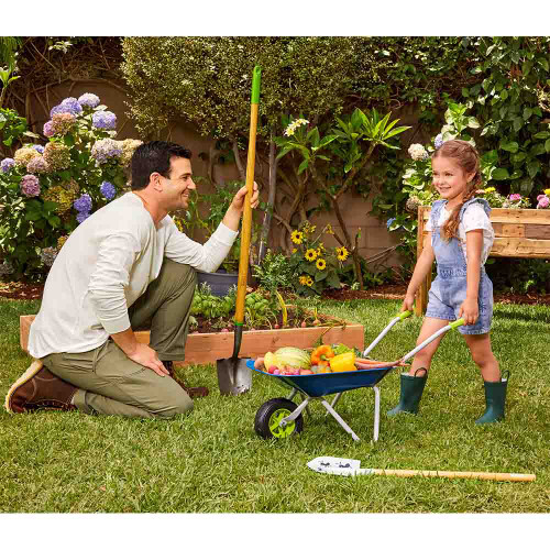 Little Tikes Growing Garden Wheelbarrow & Shovel