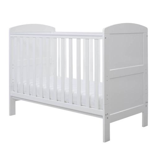 Ickle Bubba Coleby Mini 4 Piece Sleep, Feed & Change Bundle - Grey/White