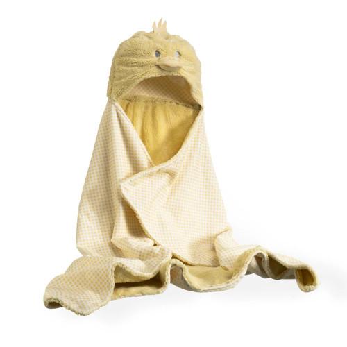 Clair De Lune Little Duck Hooded Blanket