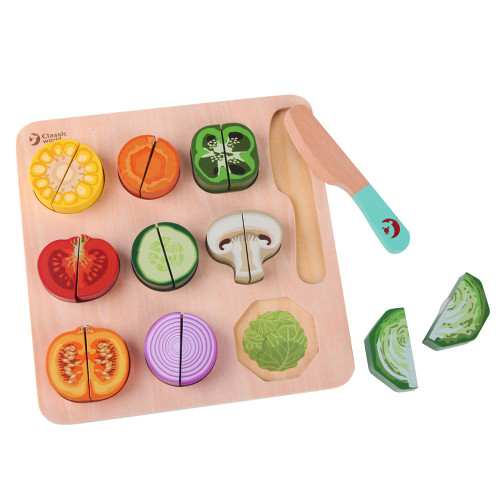 Classic World Cutting Vegetables Puzzle