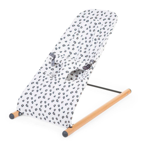 Childhome Evolux Bouncer Cover - Jersey Leopard