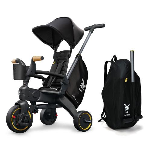Doona Liki Foldable Trike S5 - Nitro Black