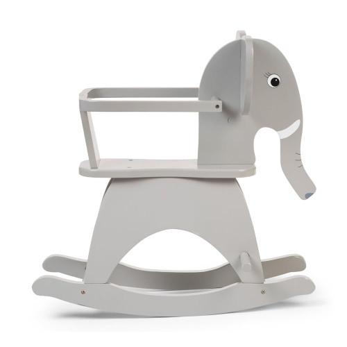 Childhome Rocking Elephant + Brace - Grey