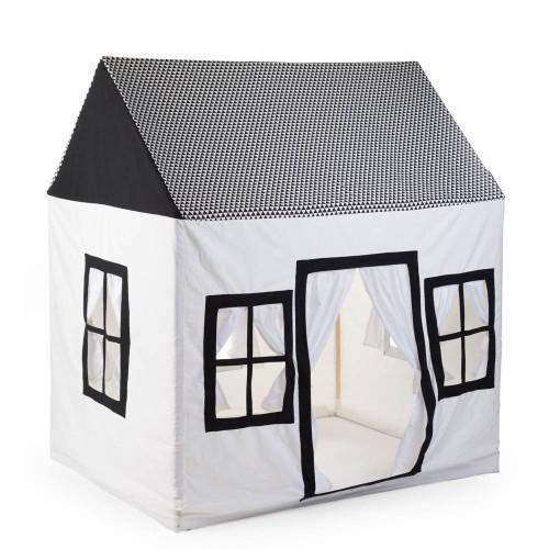 Childhome Cotton Big House - Black & White