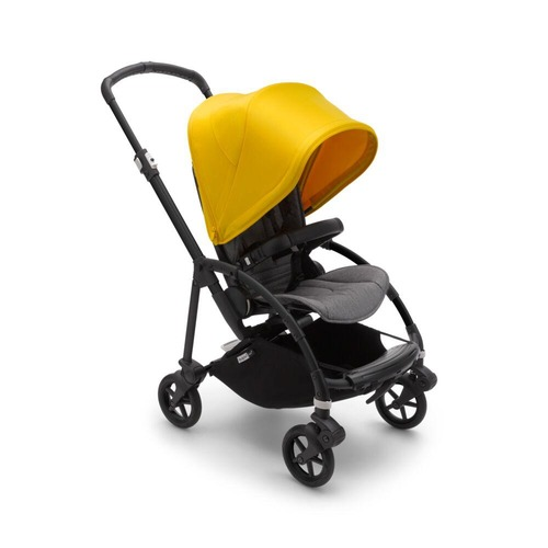 Bugaboo Bee 6 Pushchair Black/Grey - Choose your Colour