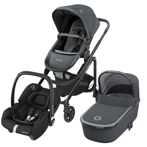 Maxi Cosi Lila CP Tinca Package - Essential Graphite