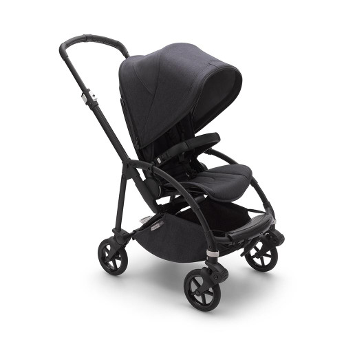 Bugaboo Bee 6 Mineral Pushchair - Black/Washed Black
