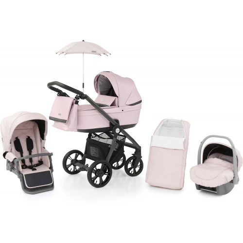 Babystyle Prestige 3 Travel System on Active Chassis - Ballerina