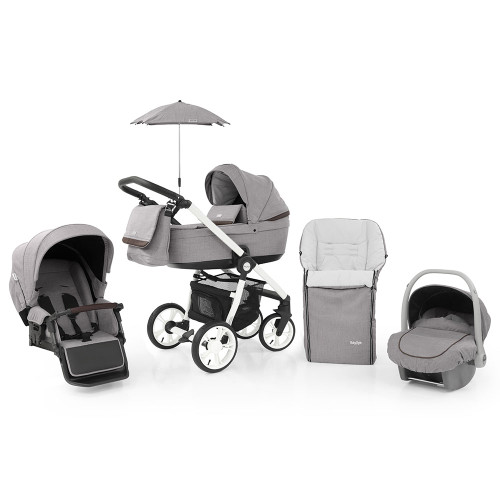Babystyle Prestige 3 Travel System on Active Chassis - Barley