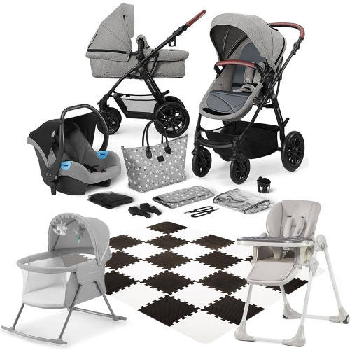 Kinderkraft XMoov 12-Piece Newborn Bundle
