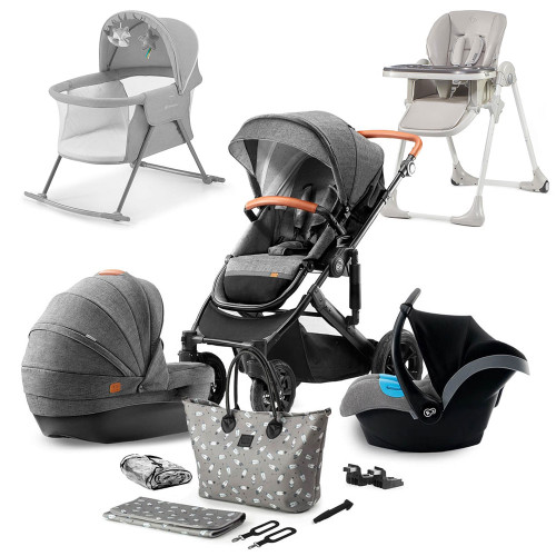 Kinderkraft Prime 2020 9-Piece Newborn Bundle