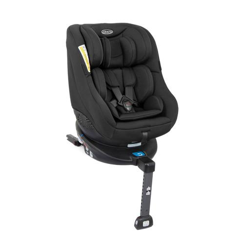 Graco Turn2me ISOFIX Group 0+/1 Rotating Car Seat - Black