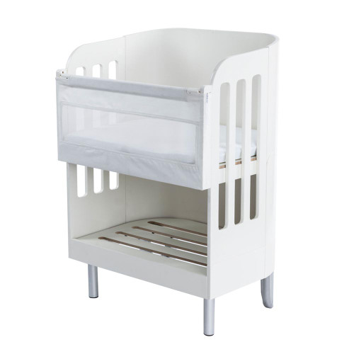 Gaia Serena Co-Sleep Crib - White