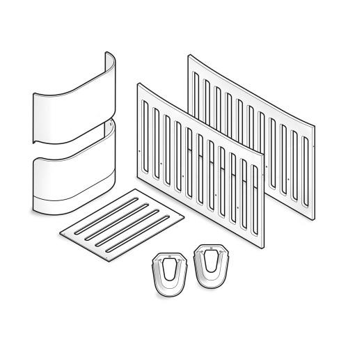 Gaia Serena Crib to Cot Bed Conversion - White