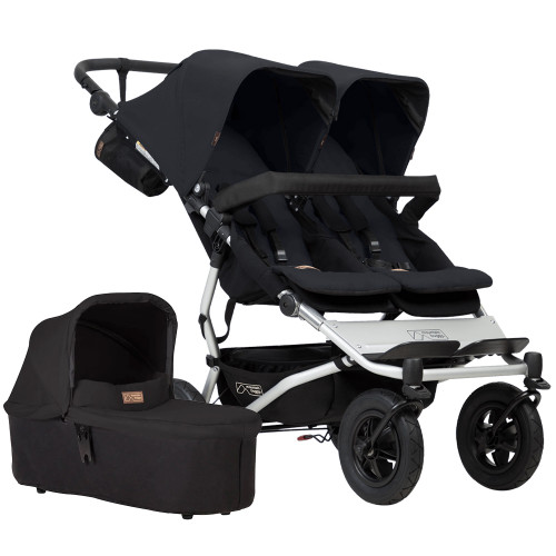 Mountain Buggy Duet V3 + Carrycot Plus - Black