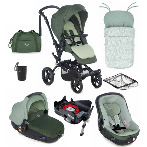 Jane Crosswalk R Matrix 10 Piece Bundle - Forest Green