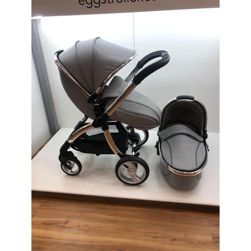 egg® Stroller + Carrycot - Platinum (Ex-Display)