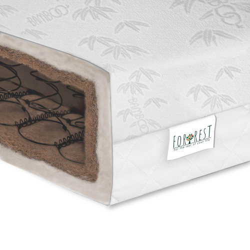 For Rest 2-in-1 Cotbed Mattress 140 x 70 - CocoWool Sprung