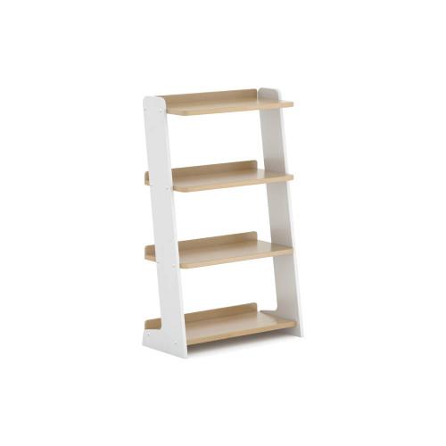 Boori Oslo Bookshelves - White & Almond