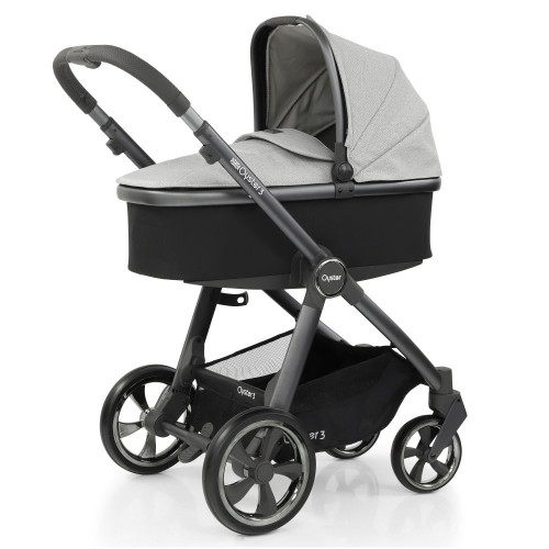 Babystyle Oyster 3 Pushchair + Carrycot - City Grey Chassis/Tonic