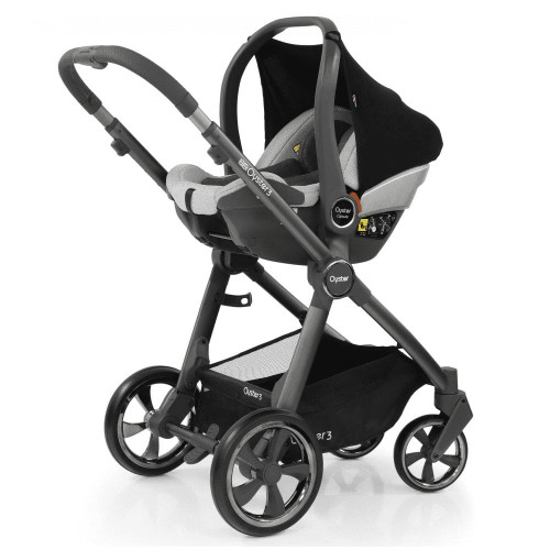 Babystyle Oyster 3 Essential 5-Piece Bundle - City Grey Chassis/Tonic