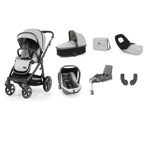 Babystyle Oyster 3 Luxury 7-Piece Bundle - City Grey Chassis/Tonic