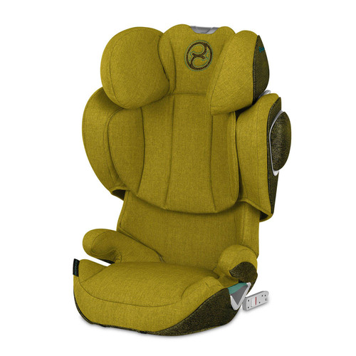 Cybex Solution Z i-Fix Plus (R129/03 tested) - Mustard Yellow