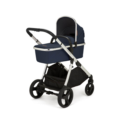 Ickle Bubba Eclipse All-in-One Travel System - Midnight Blue/Black Handle