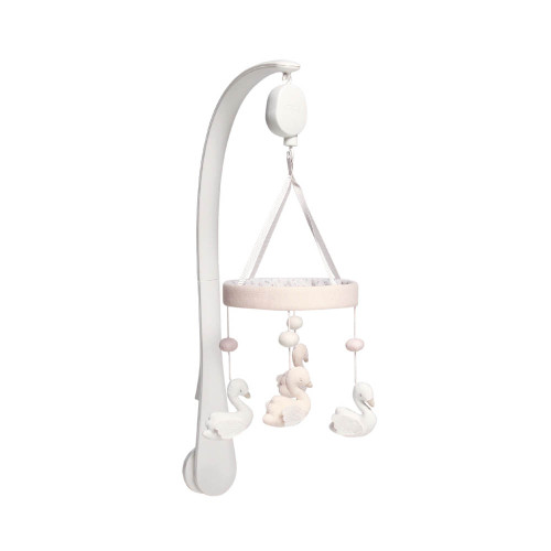 Mamas & Papas Musical Cot Mobile - Welcome to the World Floral