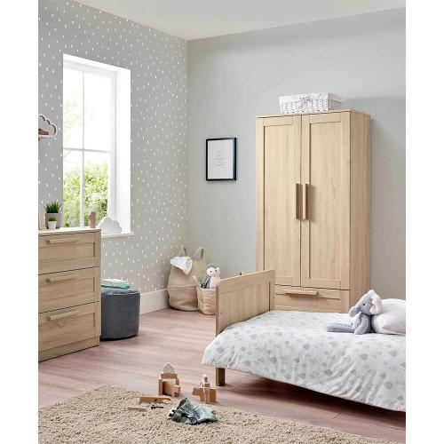Mamas & Papas Atlas 3 Piece Cot/Toddler Bed Range - Soft Oak
