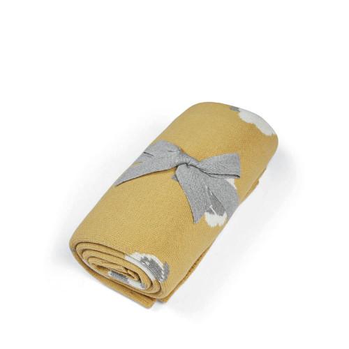 Mamas & Papas Knitted Blanket - Sheep Motif