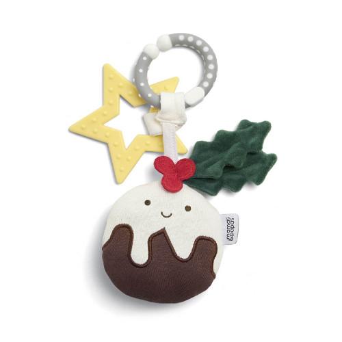 Mamas & Papas Linkie Toy - Christmas Pudding 2021