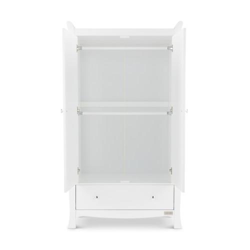 Ickle Bubba Snowdon Wardrobe - White