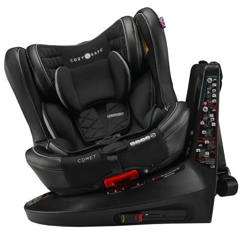 Cozy N Safe Comet 360 0+/1/2/3 Car Seat - Black