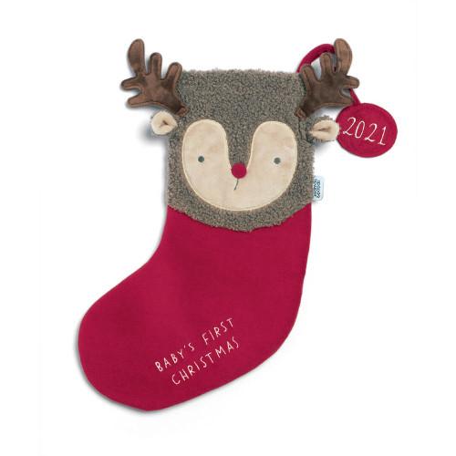 Mamas & Papas Stocking Small - Reindeer 2021