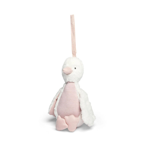 Mamas & Papas Welcome to the World Chime Duck - Pink