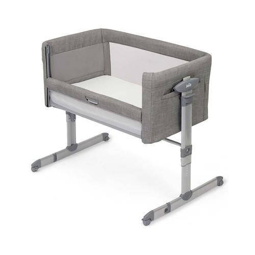 Joie Roomie Glide Side-Sleeping Crib - Foggy Grey