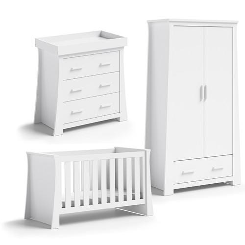 Babystyle Vancouver Furniture 3 Piece Room Set + FREE Sprung Mattress