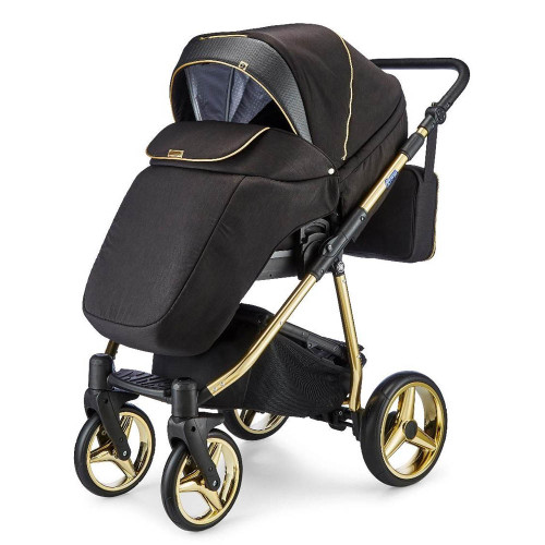 Mee-Go Santino Special Edition Travel System - Gold Leaf