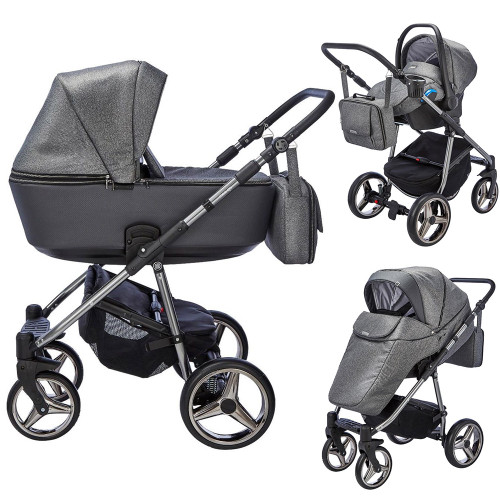 Mee-Go Santino Special Edition Travel System - Cloud