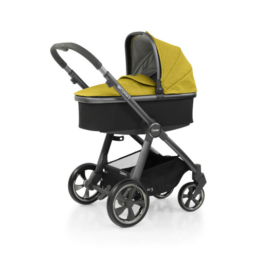 Babystyle Oyster 3 Essential 5-Piece Bundle - City Grey Chassis/Mustard