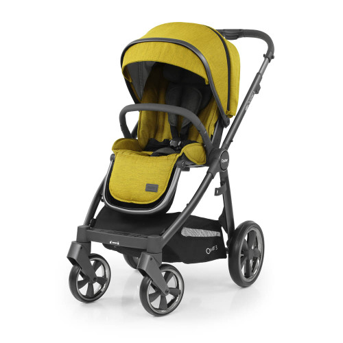 Babystyle Oyster 3 Pushchair - City Grey Chassis/Mustard