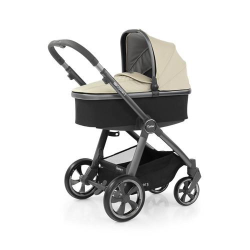 Babystyle Oyster 3 Luxury 7-Piece Bundle - City Grey Chassis/Vanilla
