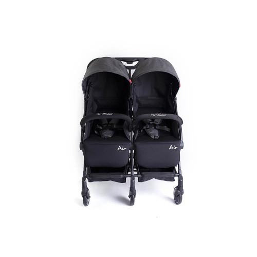 Familidoo Air Twin Pushchair - Dark Grey Denim