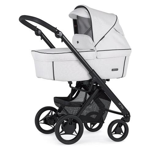 Bebecar Pack Prow + Lie Flat Car Seat & Raincover - White (104)