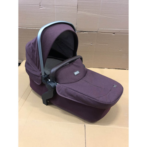 Silver Cross Wave Carrycot + Footmuff - Claret (Ex-Display)