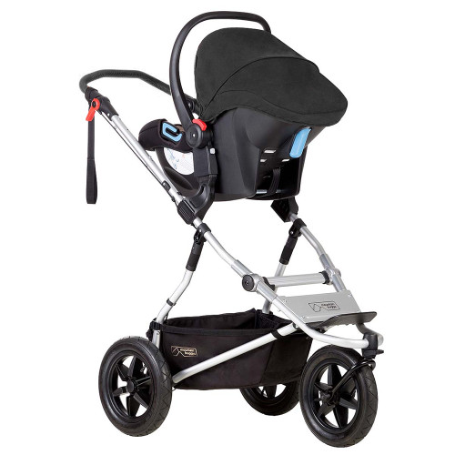 Mountain Buggy Urban Jungle Travel System & Carrycot Plus - Silver