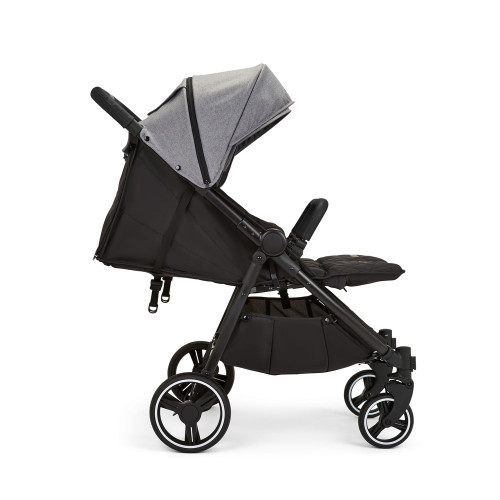 Ickle Bubba Venus Double Stroller - Space Grey